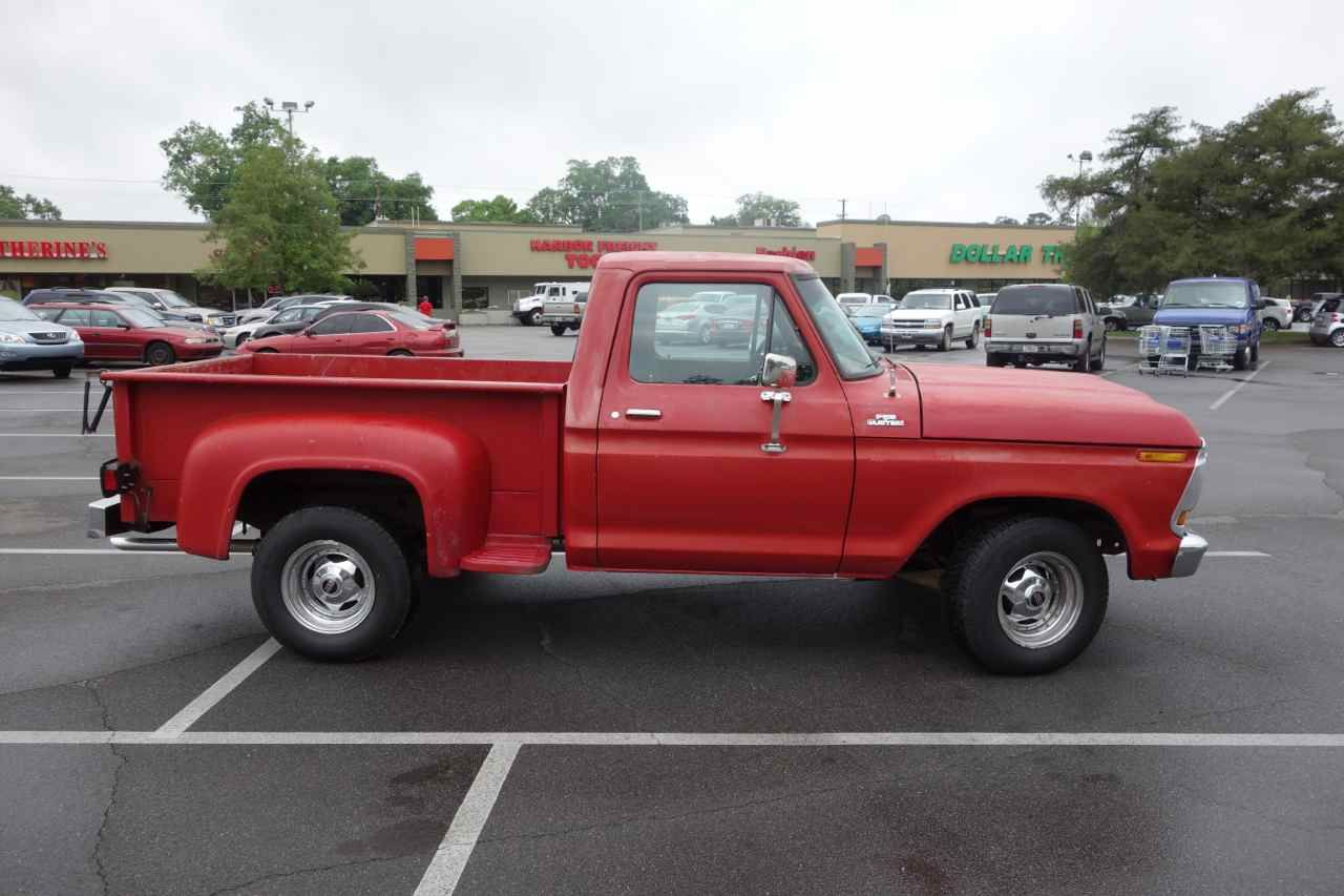 1978 ford f100 custom stepside