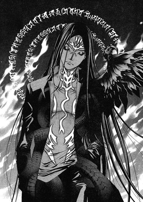 Tenjou Tenge Soichiro God Nagi | Character and concept