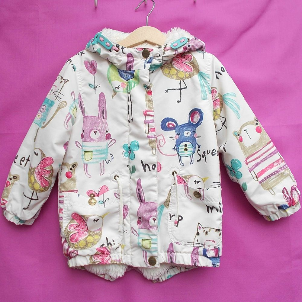 d170e45101bb Details about Girls NEXT Sweet Pea Coat 3-4 years - immaculate ...