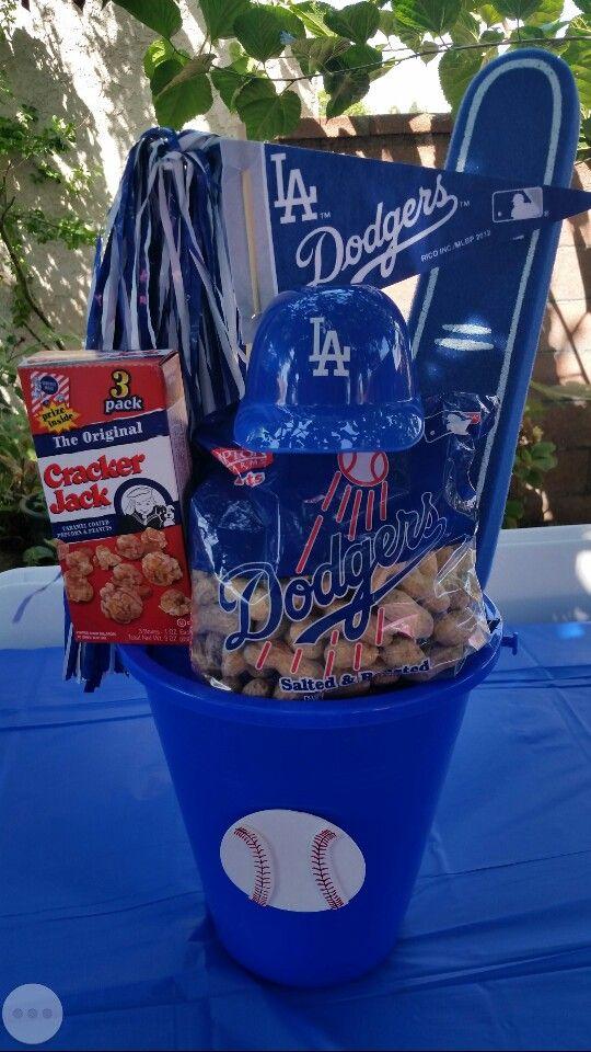 Dodgers Centerpiece Diy Crafts That I Love Dodgers Party
