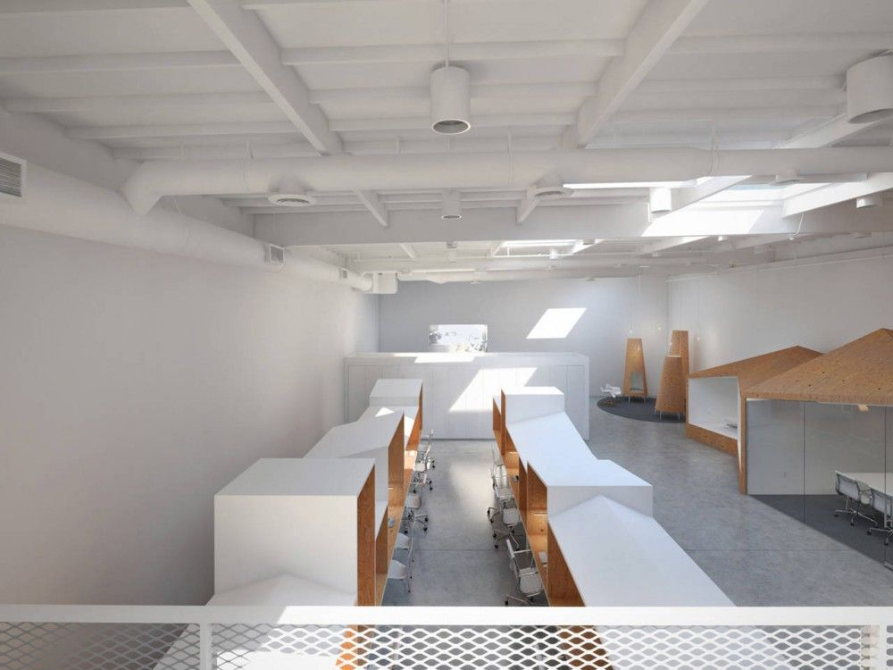 Hybrid Office Edward Ogosta Architecture With Images Office