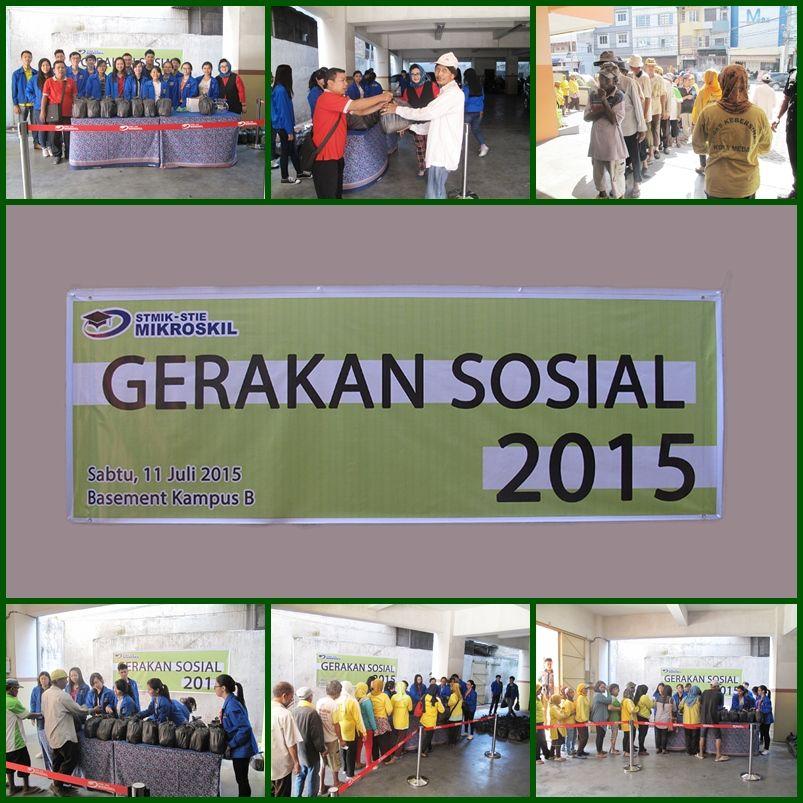 Gerakan Sosial 2015 Sabtu 11 Juli 2015 Kampus B Basement Mikroskil
