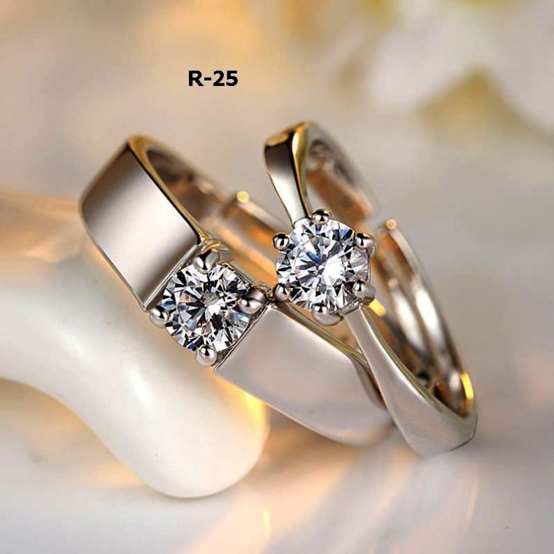 Couple Lab Wedding Bands Regarding Jewellery Online India Couple Wedding Rings Couple Ring Design Engagement Rings Couple