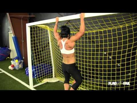 """Dana Linn Bailey Full Body Sprint Workout- I love the intensity of this workout.  While I have no desire to be as built as she is (she's a body builder) I love that this workout pushes you.  This is """"training"""" rather than """"exercise""""."""
