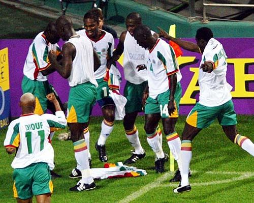 Group stage,Senegal shocked France in the opening match on ...