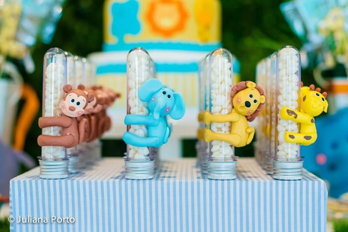baby 1st birthday - zoo themed