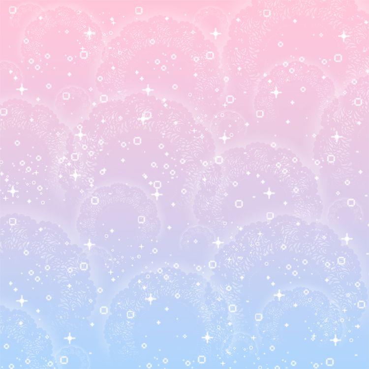 Cute Colorful Iphone Wallpaper: Mahou Shoujo Background