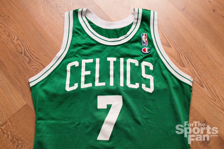 best website ddf29 cc9f2 Vintage 90s Dee Brown Green NBA Jersey, Champion, Boston ...