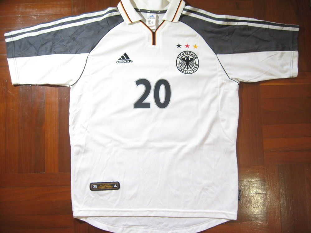 BIERHOFF GERMANY EURO 2000 ADIDAS FOOTBALL SHIRT SOCCER