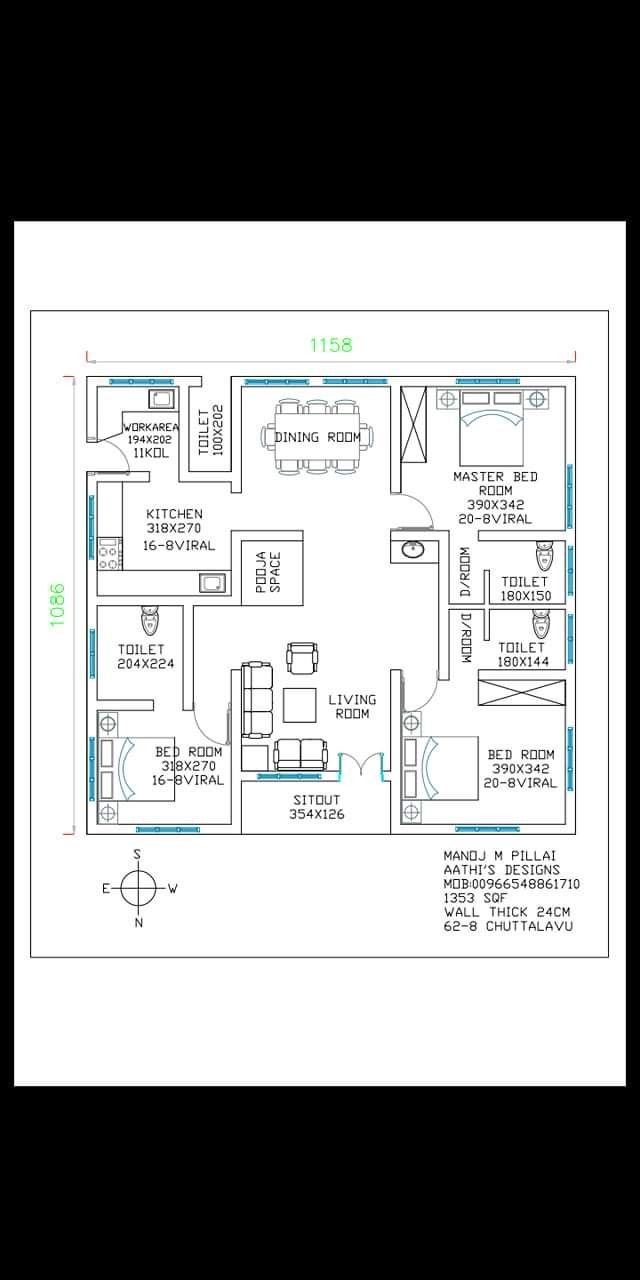 Like esakki muthu house plans  also best images in dream home rh pinterest