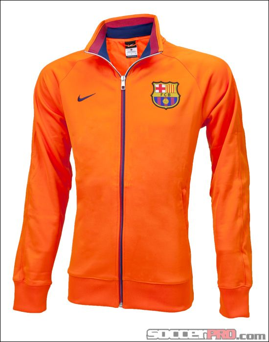 Nike Barcelona Core Trainer Jacket - Safety Orange with Midnight  Navy... 67.49 bf824afbf0e