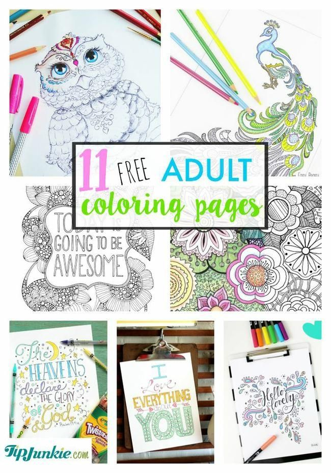 Jump on the Adult Coloring Trend With These 11 Templates | Doing It ...