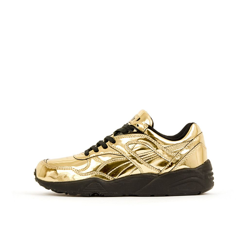 PUMA R698 X Vashtie G Gold. Now available at Concrete Store ...