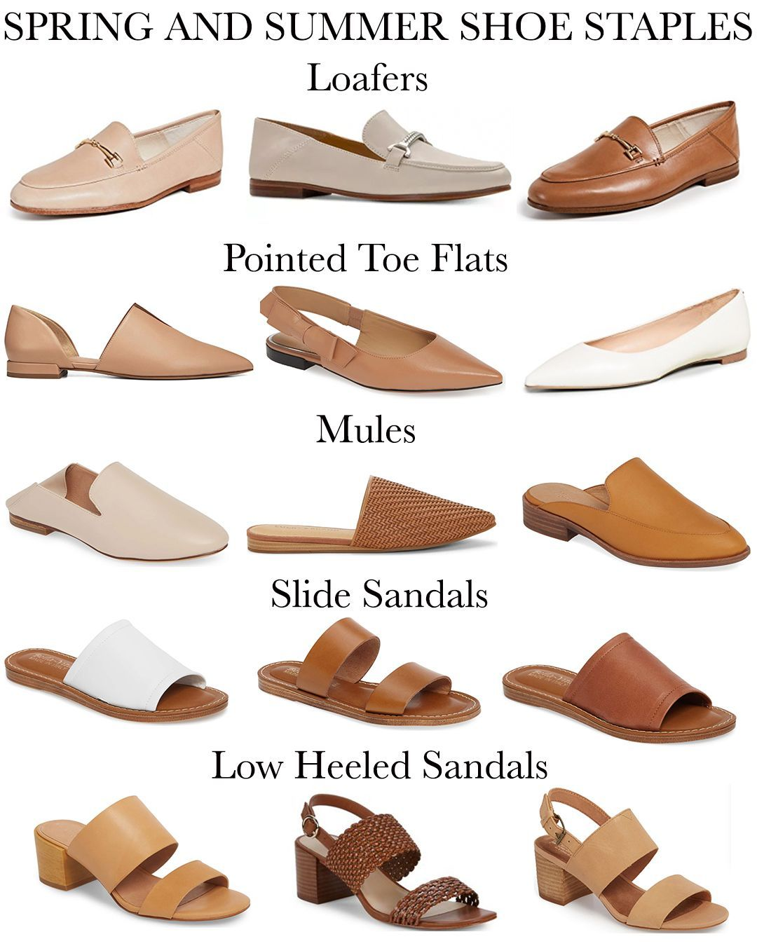 save off 2018 sneakers usa cheap sale Spring and Summer Shoe Staples — Girl Meets Gold | summer shoes ...