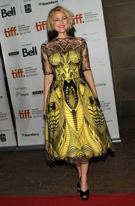 Alexander MacQueen dress!