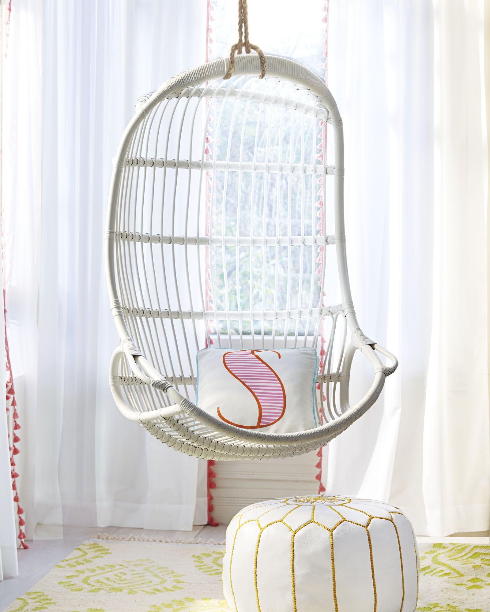 Serena And Lily Hanging Chair Hickory Counter Stool Rattan Nantucket House West Sankaty