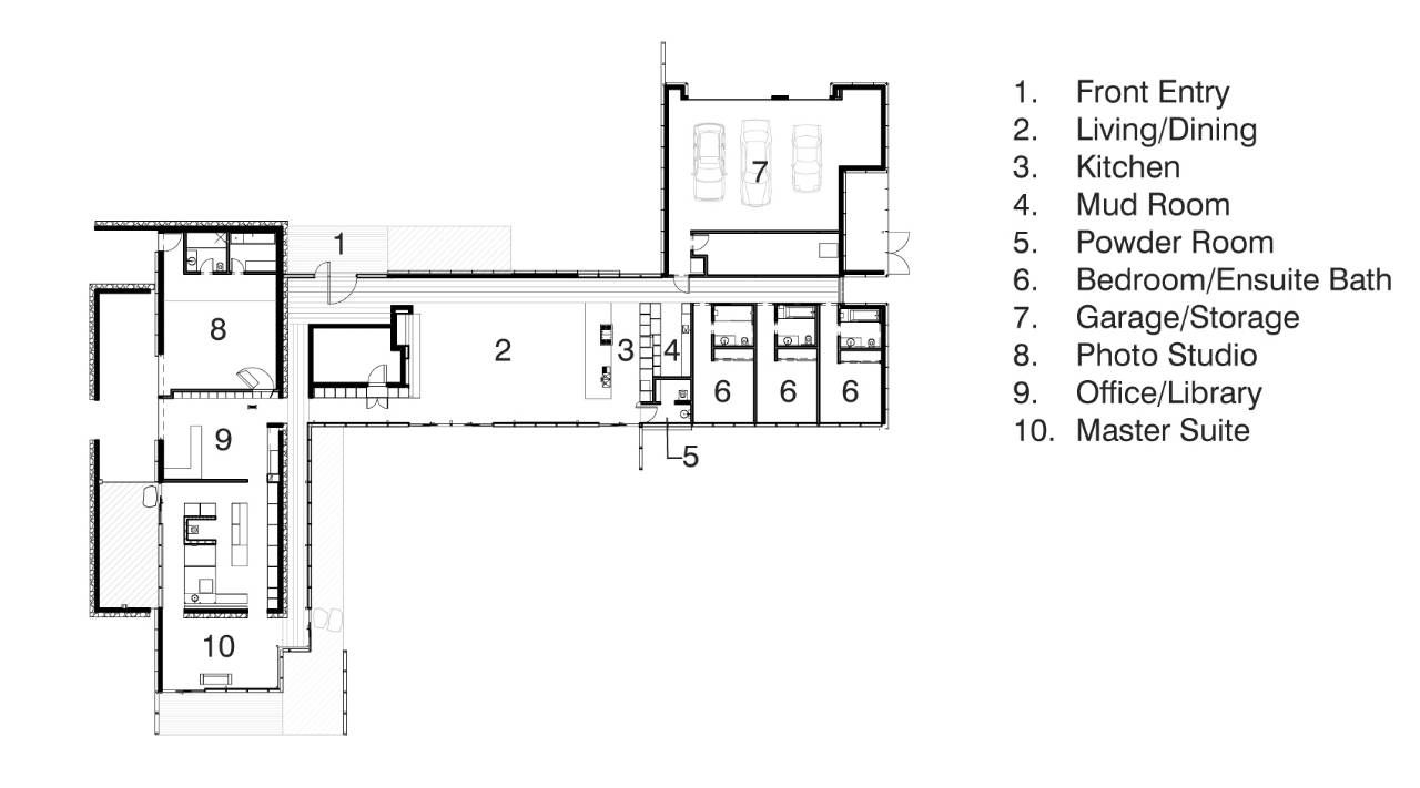 Richard neutra floor plans google search house plans for Cliff may floor plans