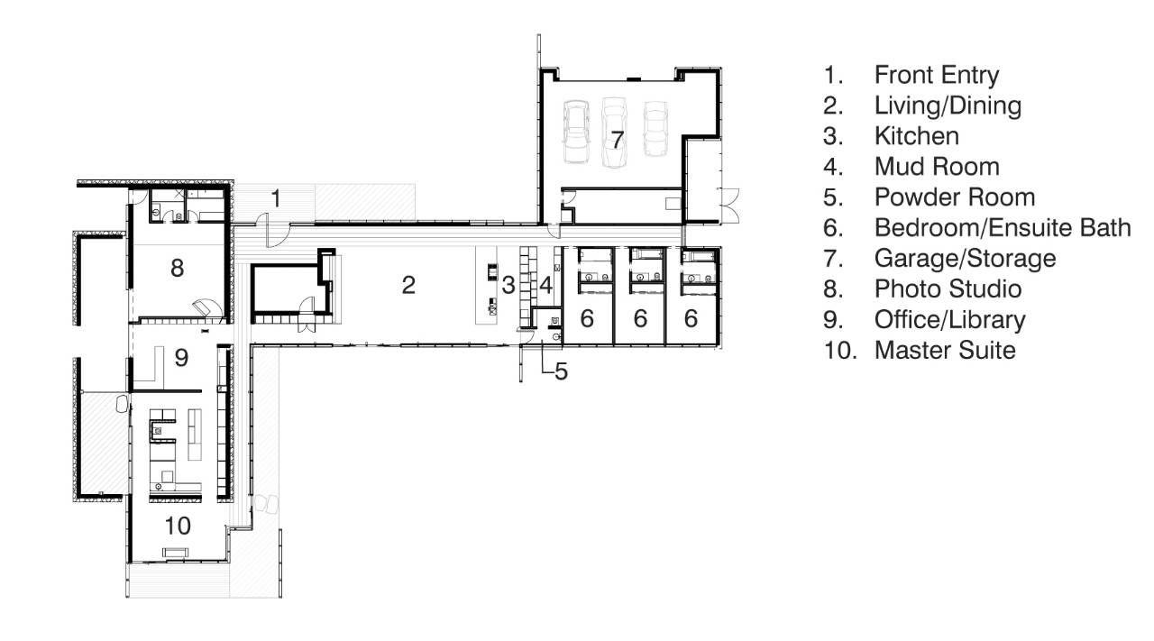 Richard neutra house plans kaufman house richard neutra for Kaufmann desert house floor plan