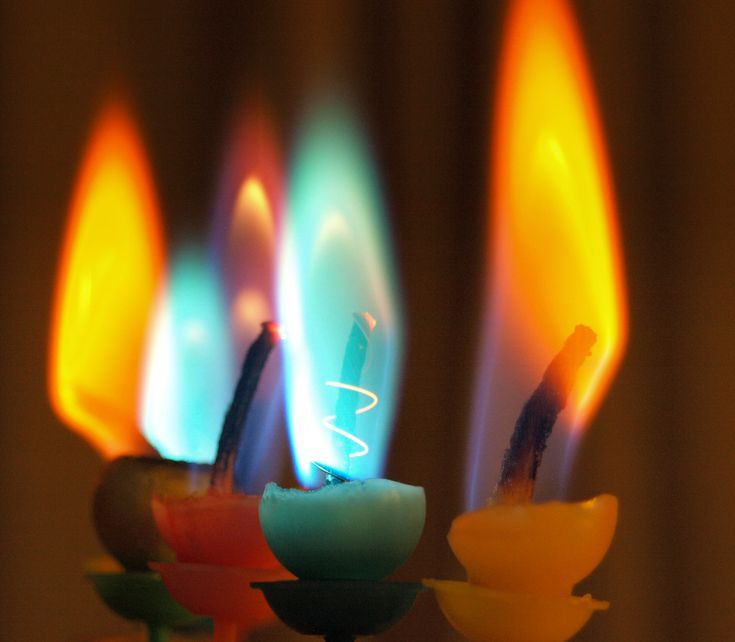 How To Make Colored Candle Flames With Images Coloured Candles