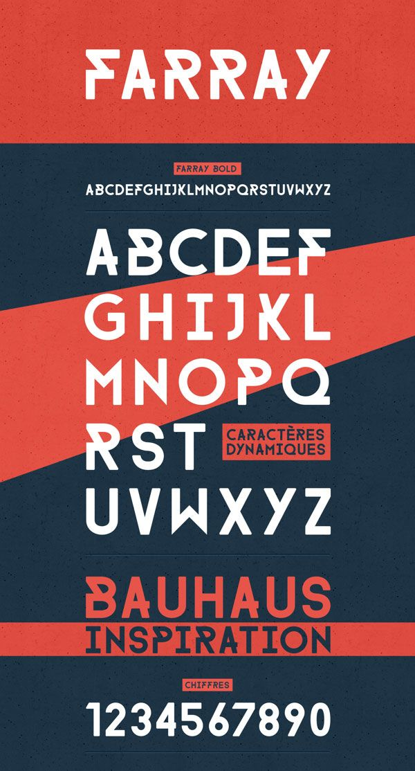 Free Font Of The Day : Farray