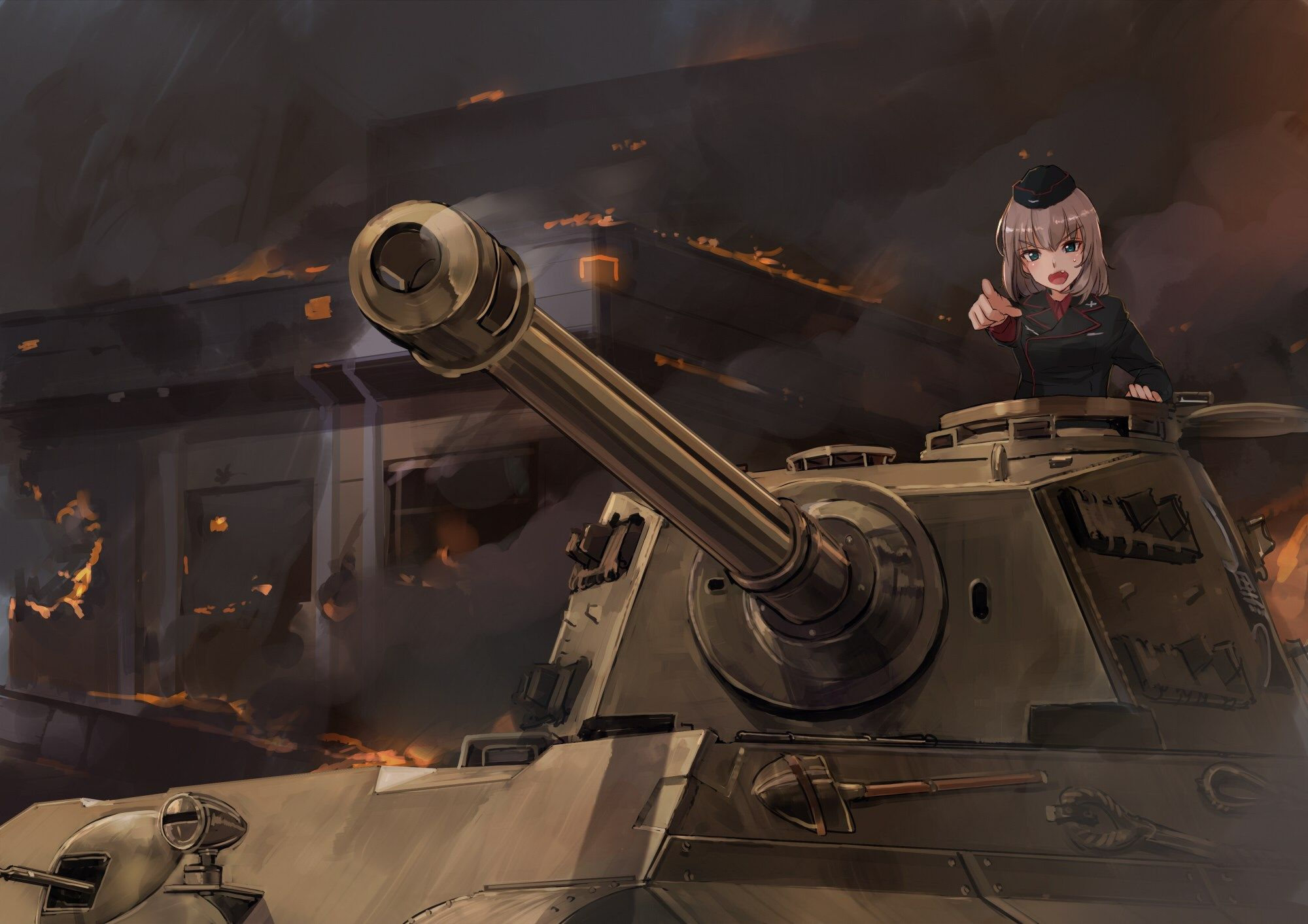 Girls Und Panzer Free Desktop Wallpaper Girls Und Panzer Category ทหาร สาวอน เมะ อะน เมะ