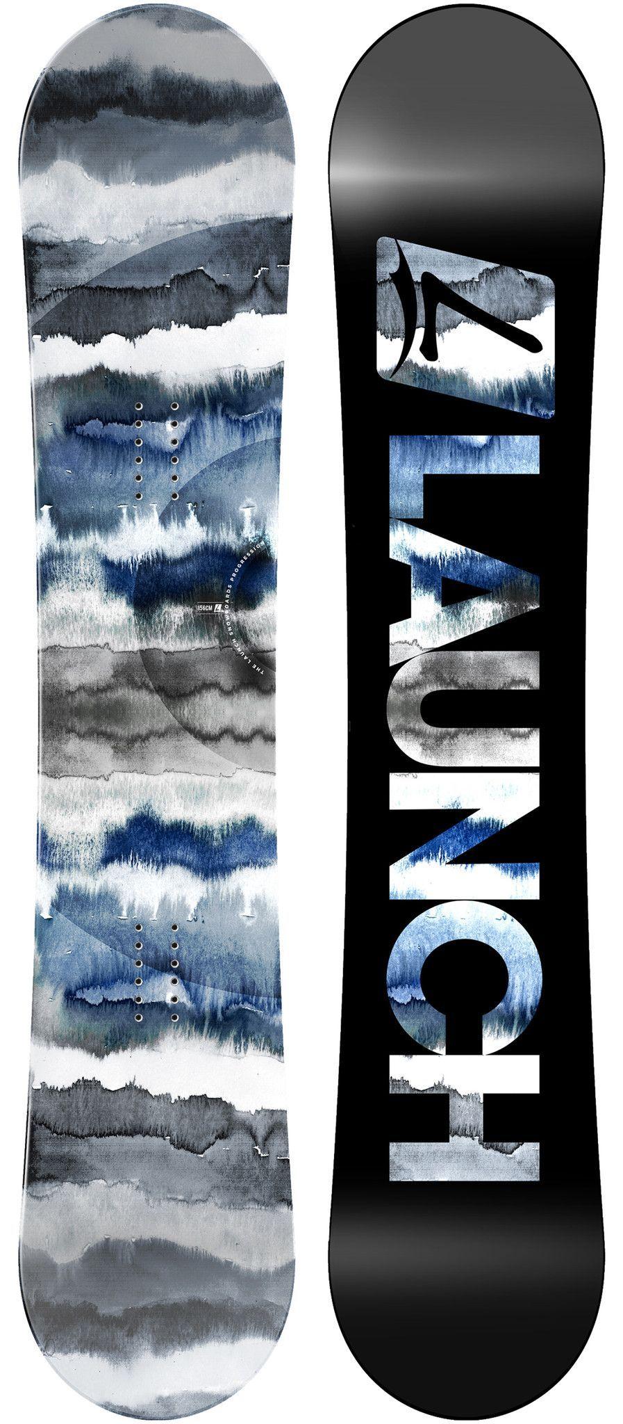 2016 Launch Men S Progression Snowboard Snowboard Snow Skiing Snowboard Design