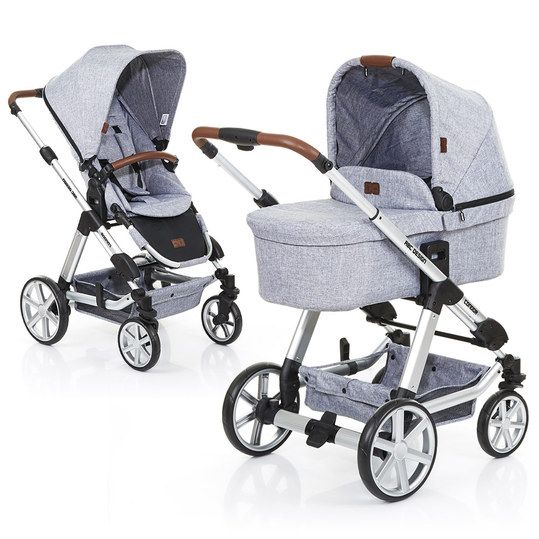 im kombi kinderwagen condor 4 graphite grey von abc. Black Bedroom Furniture Sets. Home Design Ideas