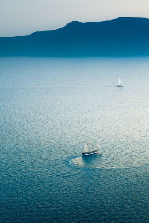Sailing, Greece share moments