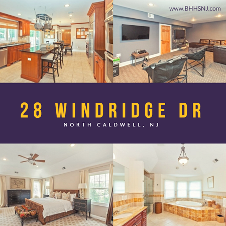 This Beautiful Custom Home At 28windridgedr In A Fabulous North Caldwell Neighborhood Could Be Yours By Christmas If You Caldwell Custom Homes Home
