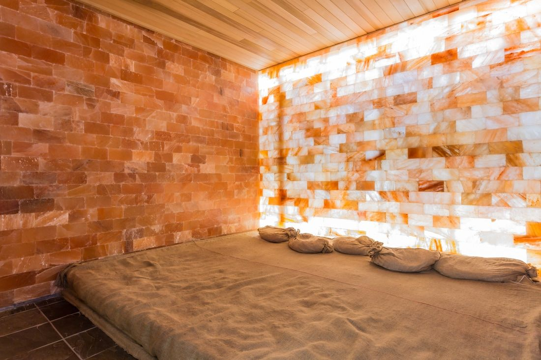 Himalayan rock salt cave salt therapy salt speleotherapy