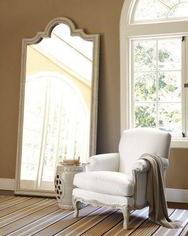 Des miroirs à poser au sol pour une décoration originale | Bedrooms