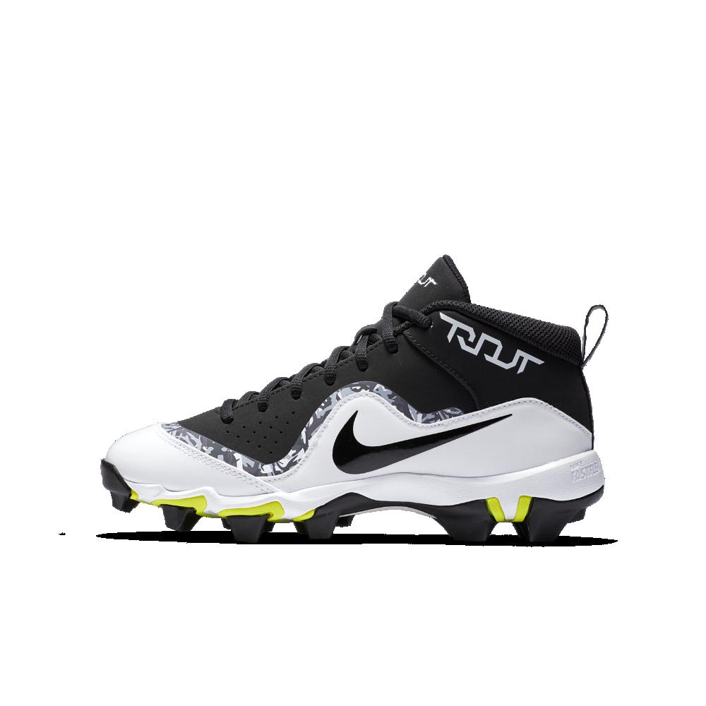 62e7ddf84fa7 Nike Force Trout 4 Keystone Little Big Kids  Baseball Cleats Size 5.5Y ( Black)