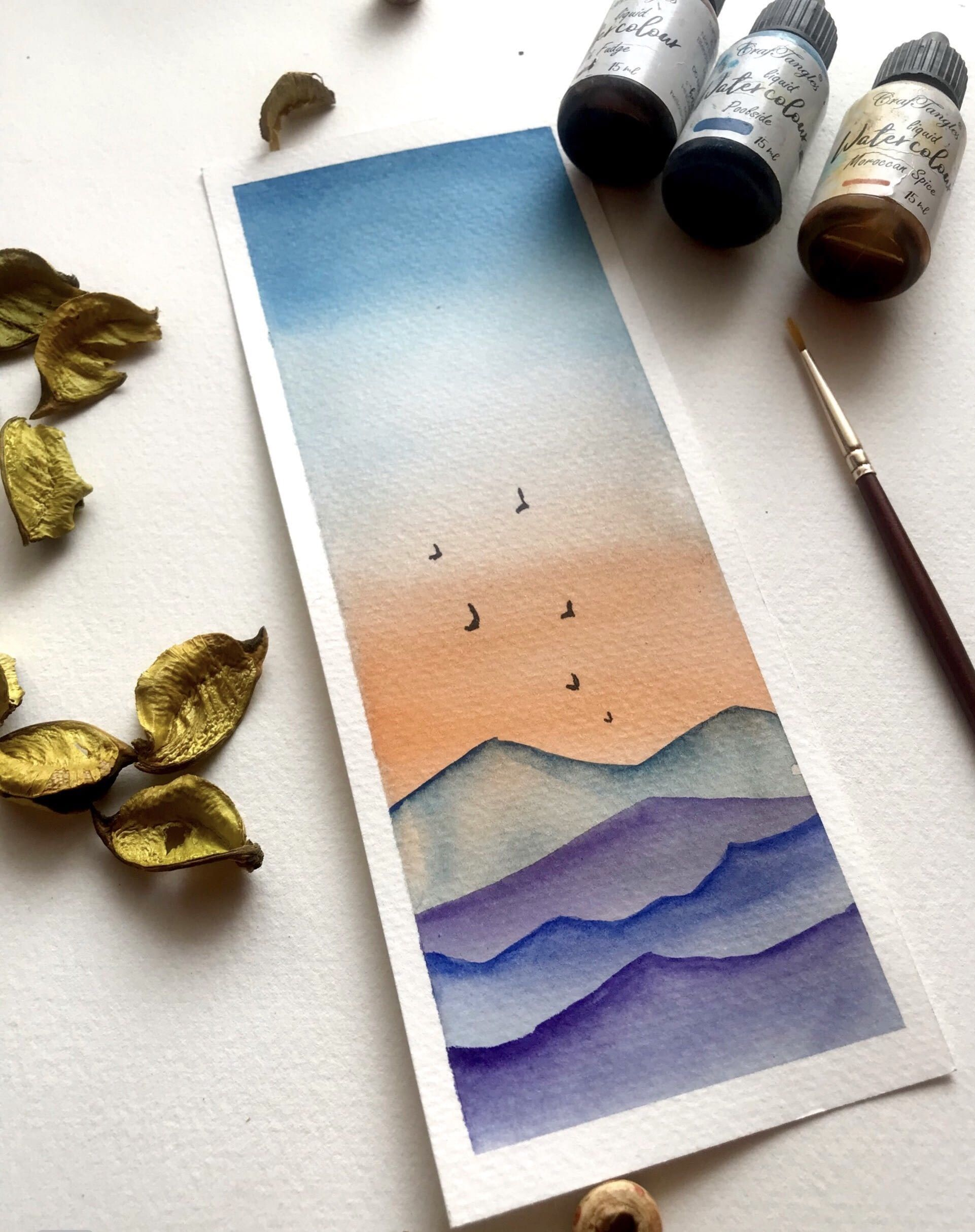 Diy Paper Lanterns With Watercolor Crafts Unleashed Diy Paper