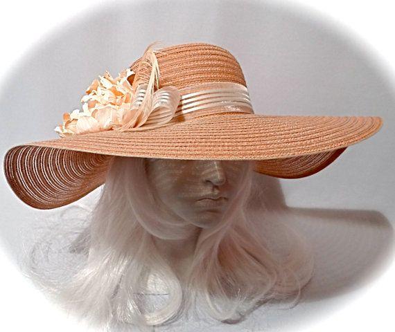 1d90d231768 Caramel Derby Hat Women s Sun Hats Kentucky Derby Hats DH-132 ...
