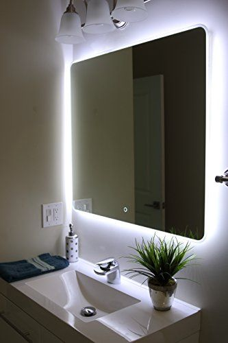 Robot Check Led Mirror Bathroom Illuminated Mirrors Mirror Wall Bathroom
