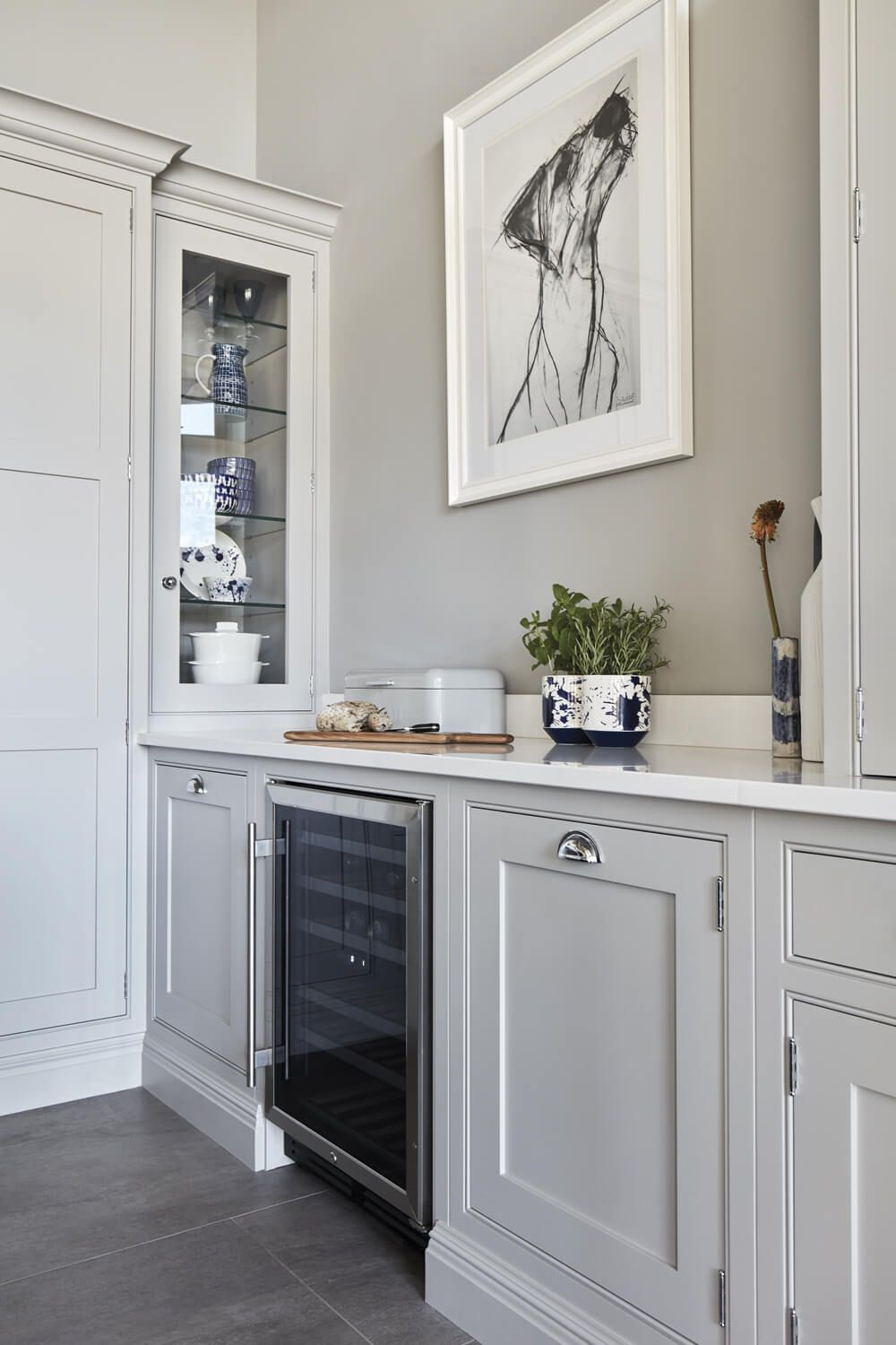 Blue Fitted Kitchen | Tom Howley in 2020 | Tom howley ...