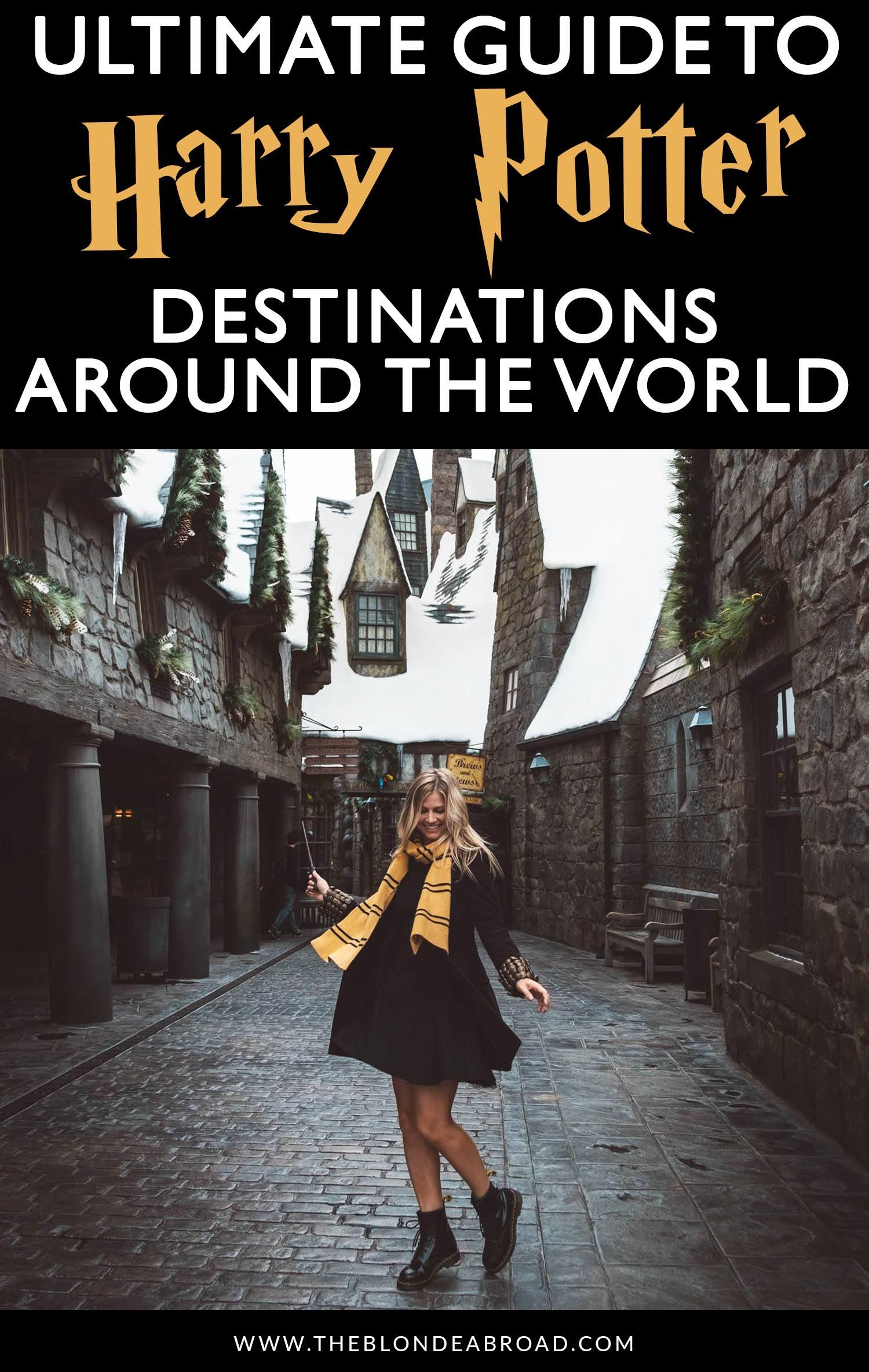 The Ultimate Guide To Harry Potter Destinations Around The World The Blonde Abroad Harry Potter Travel Harry Potter Locations Harry Potter Places