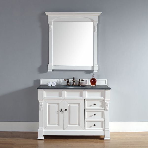 48 Inch Brookfield Cottage Single Drawer Vanity Overstock Shopping Great Deals On Bathroom