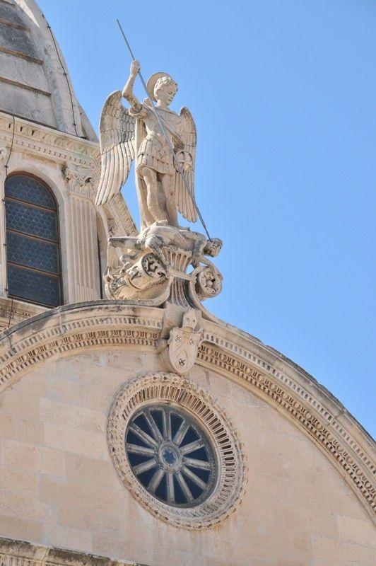 The Cathedral Of St James Croatian Katedrala Sv Jakova In Sibenik Croatia Kroatie