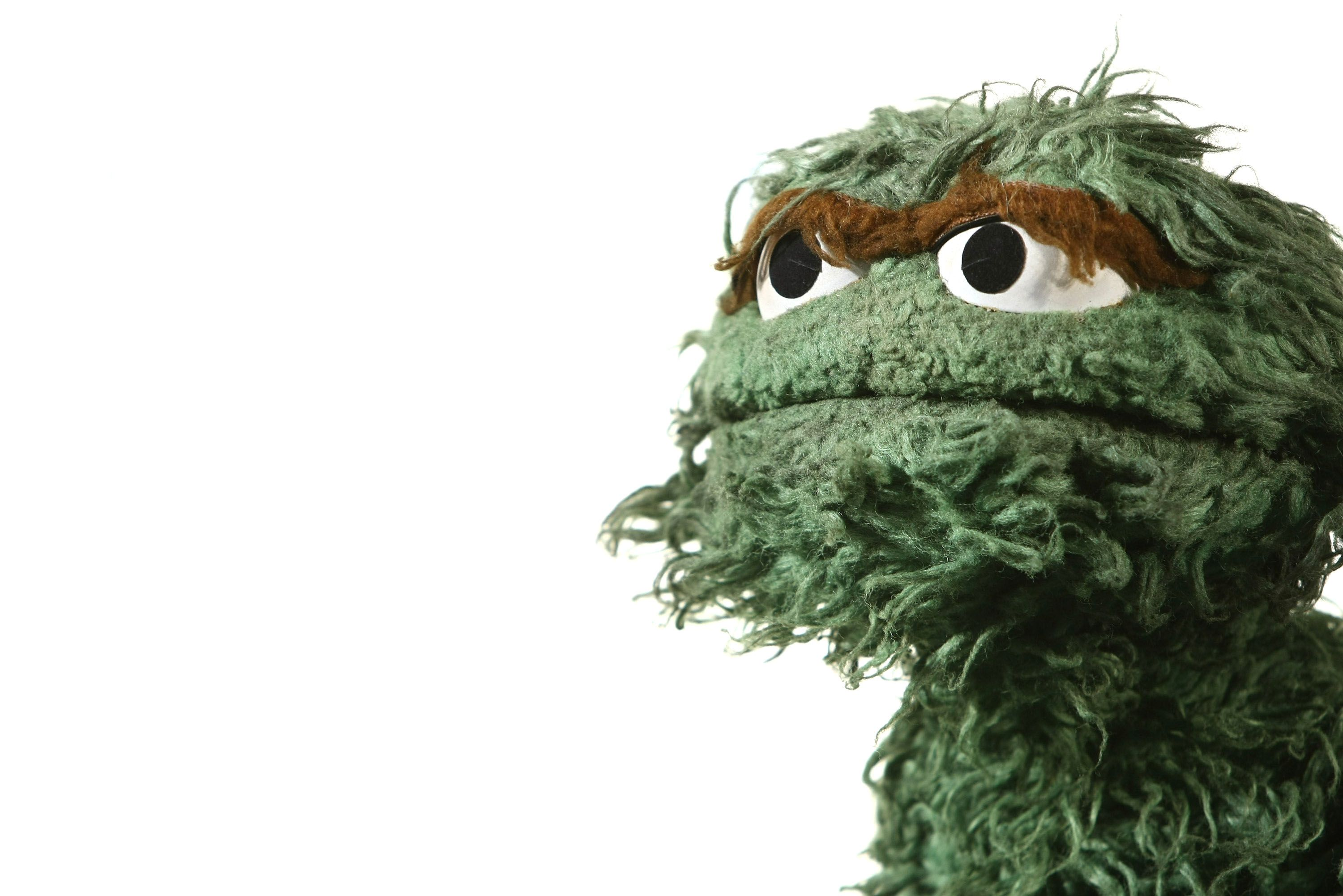 cool hi def oscar the grouch computer wallpaper background ...