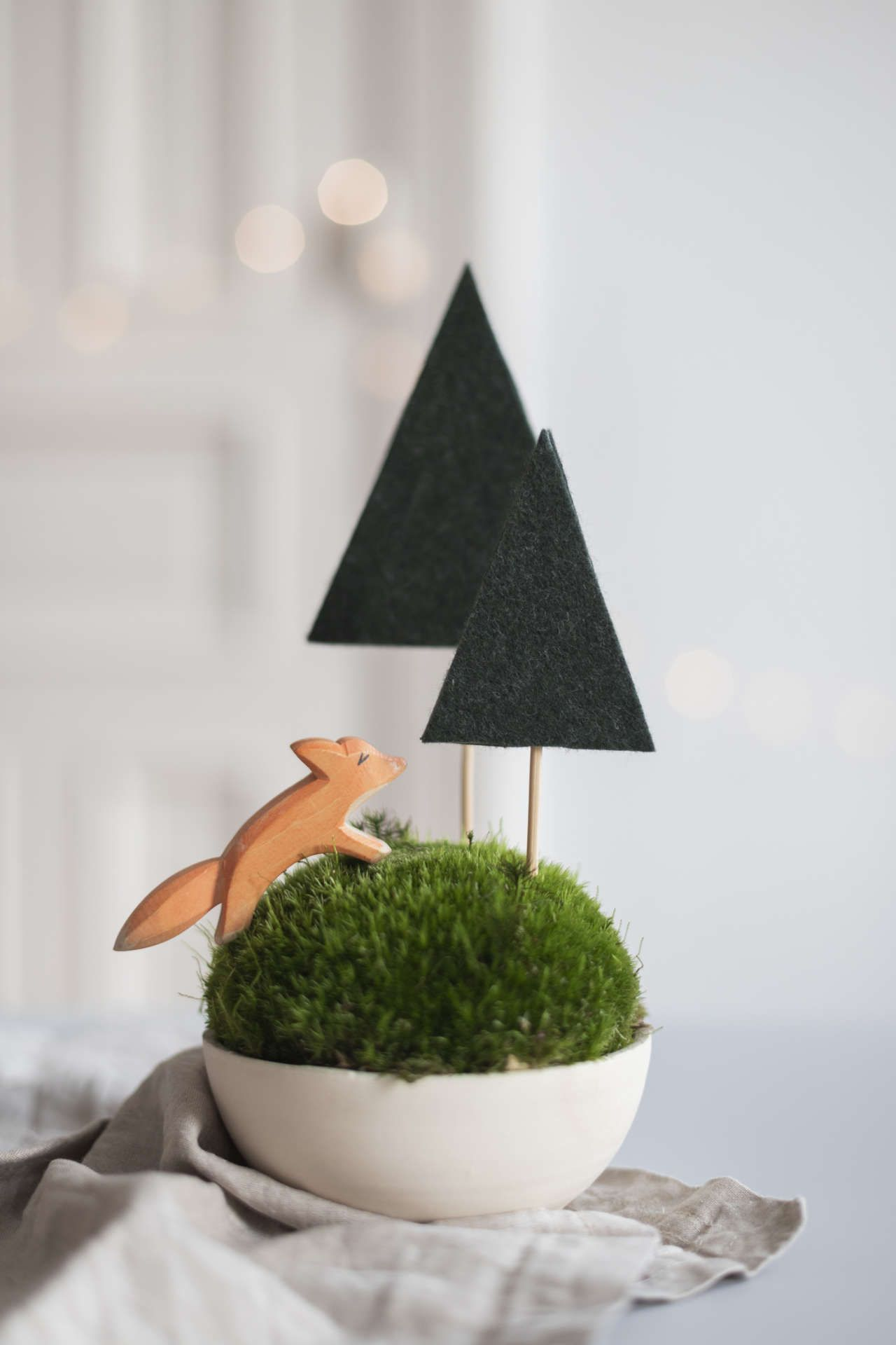 Photo of A fox in the felt forest: delightful winter decoration paul vera
