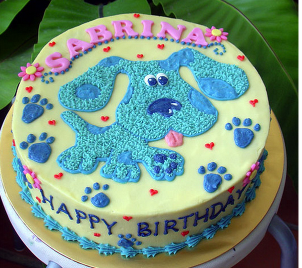 Blues Clues cake for Joshua Party Ideas Pinterest Cake Blues