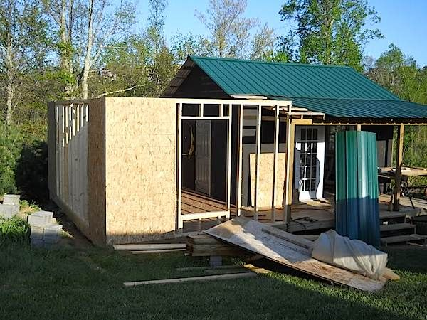 Second Room For Our Small House 3 How To Build A Mortgage Free Small House  For