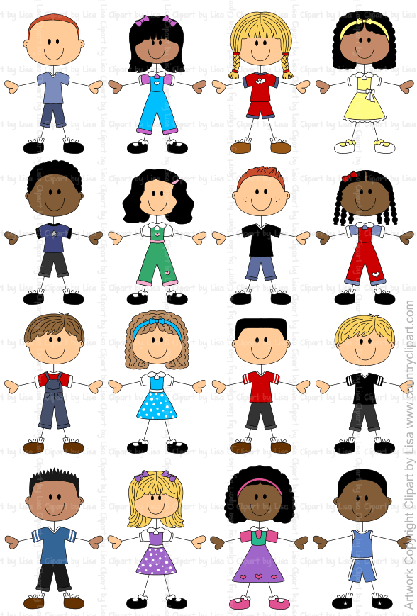 stick figure kids graphics and clipart samples 4   educacion ...
