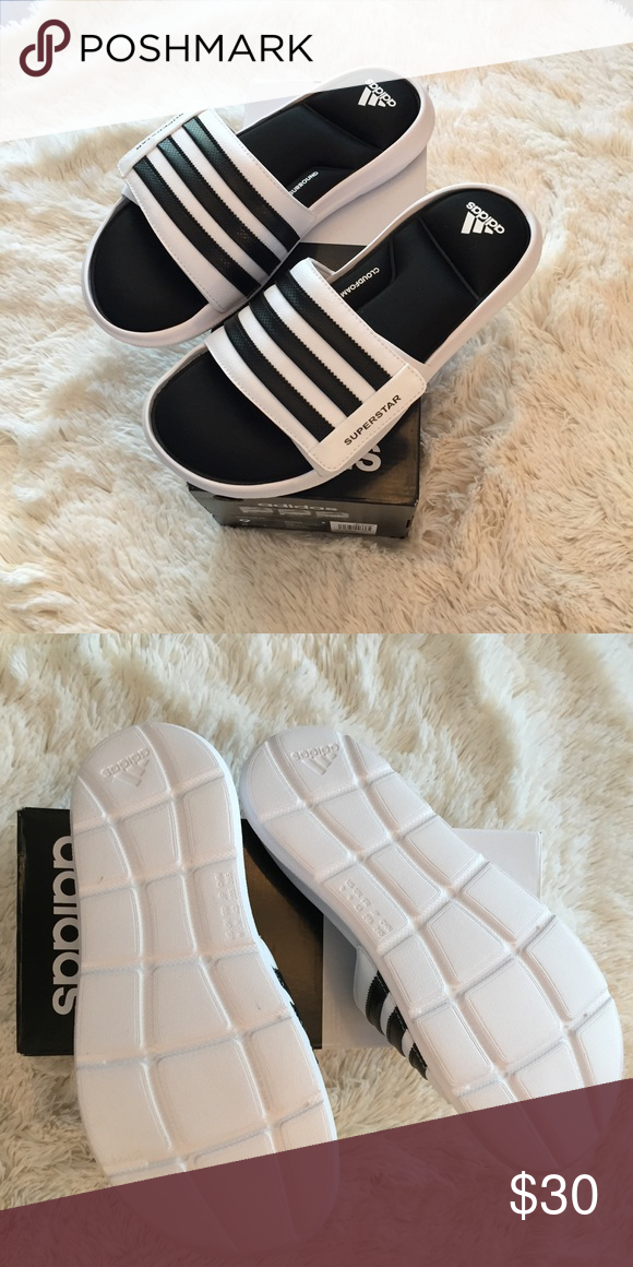 26f7cb9315aa Adidas Superstar 5G slides Brand new without tags comes with box Cloud form  super soft and comfy Men s size 9 Adidas Shoes