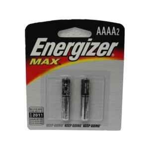 AAAA 2 Batteries//Pack Energizer MAX Alkaline Batteries
