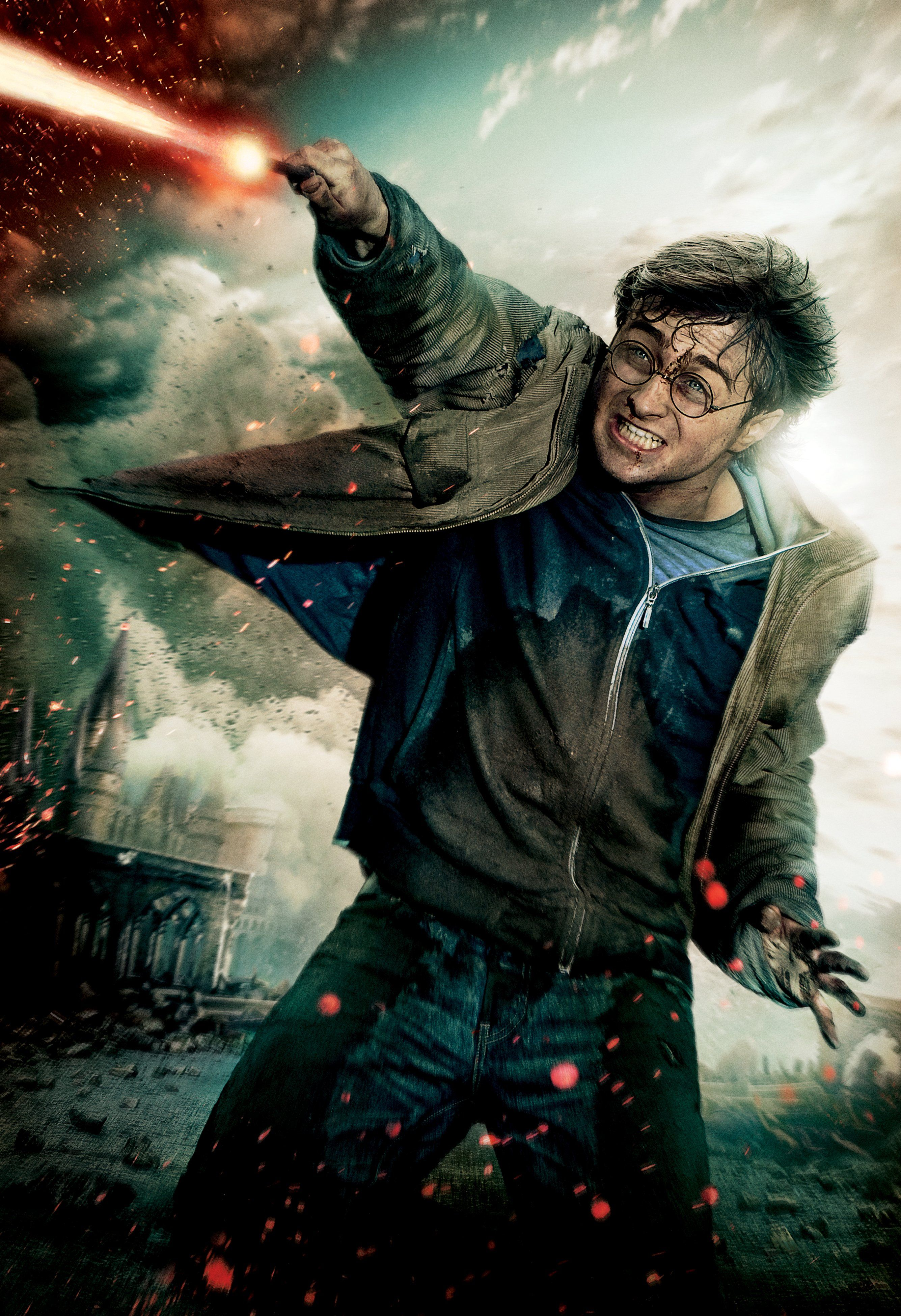 Harry Potter 7 Part 2 Harry Potter Film Poster Harry Potter Harry Potter