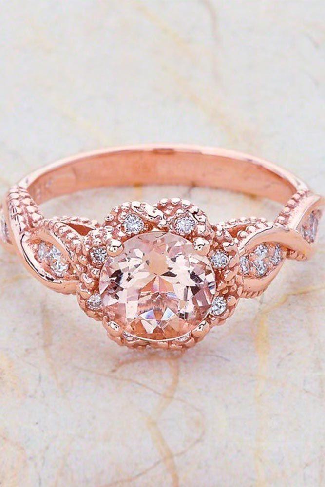 24 Beautiful Rose Gold Engagement Rings Pinterest Ringe Kaufen