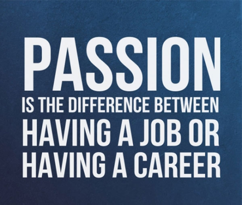 Passion is about making your advocation, your vocation! | Words to ...