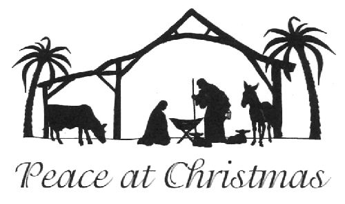 Peace At Christmas Clear Stamp - As Seen On TV | SILHOUETTES ...